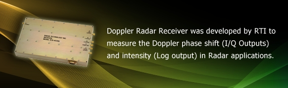 Doppler Radar Receiver